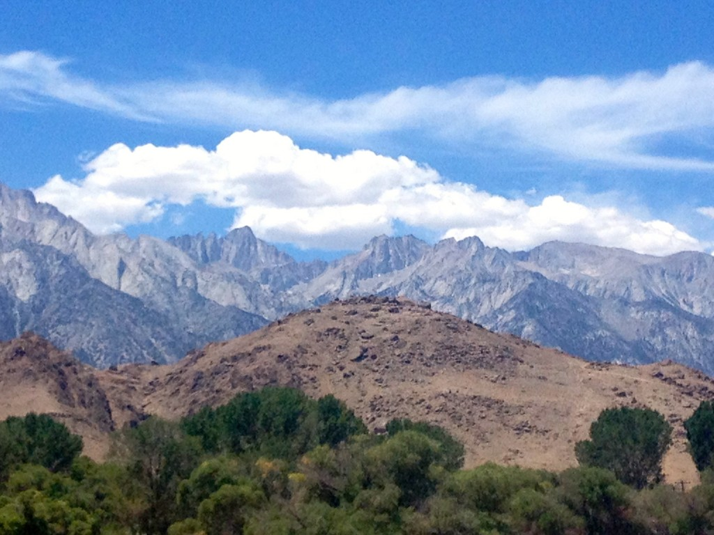 mt. whitney view from lone pine
