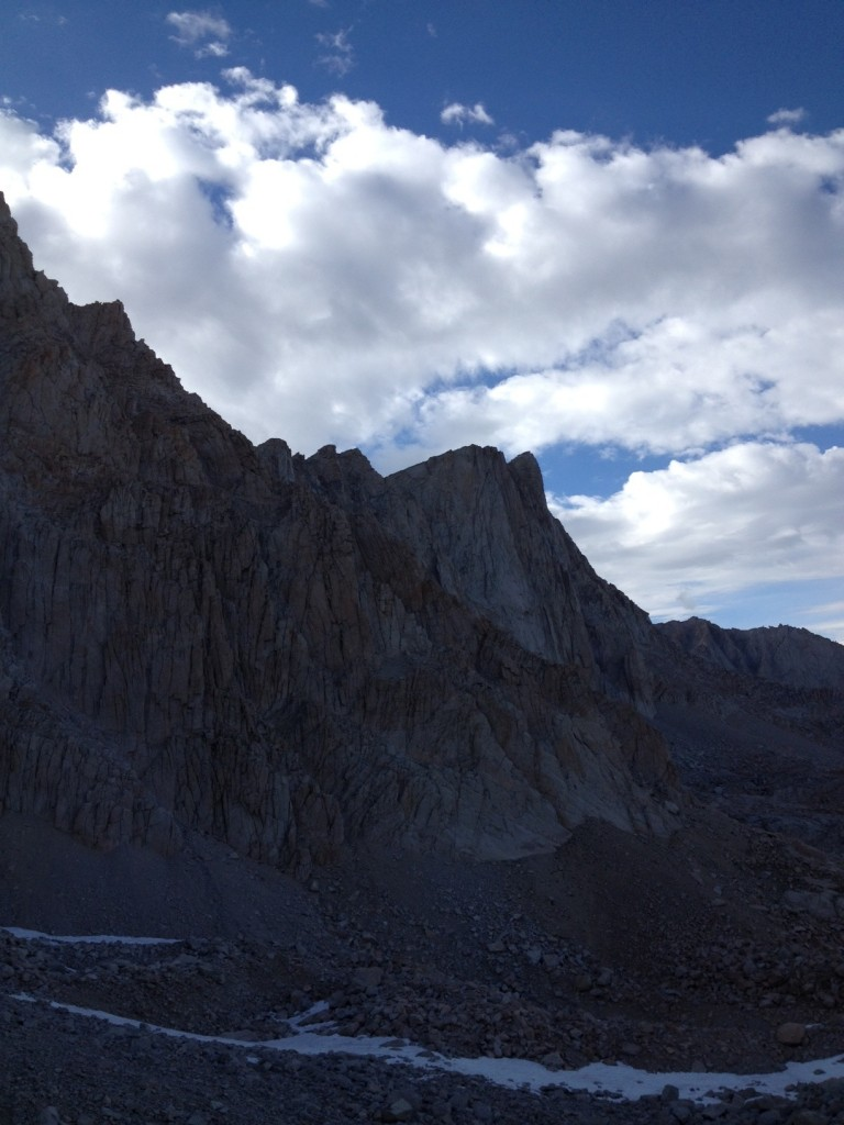 mt. whitney view from switchbacks