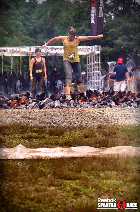 spartan race fire