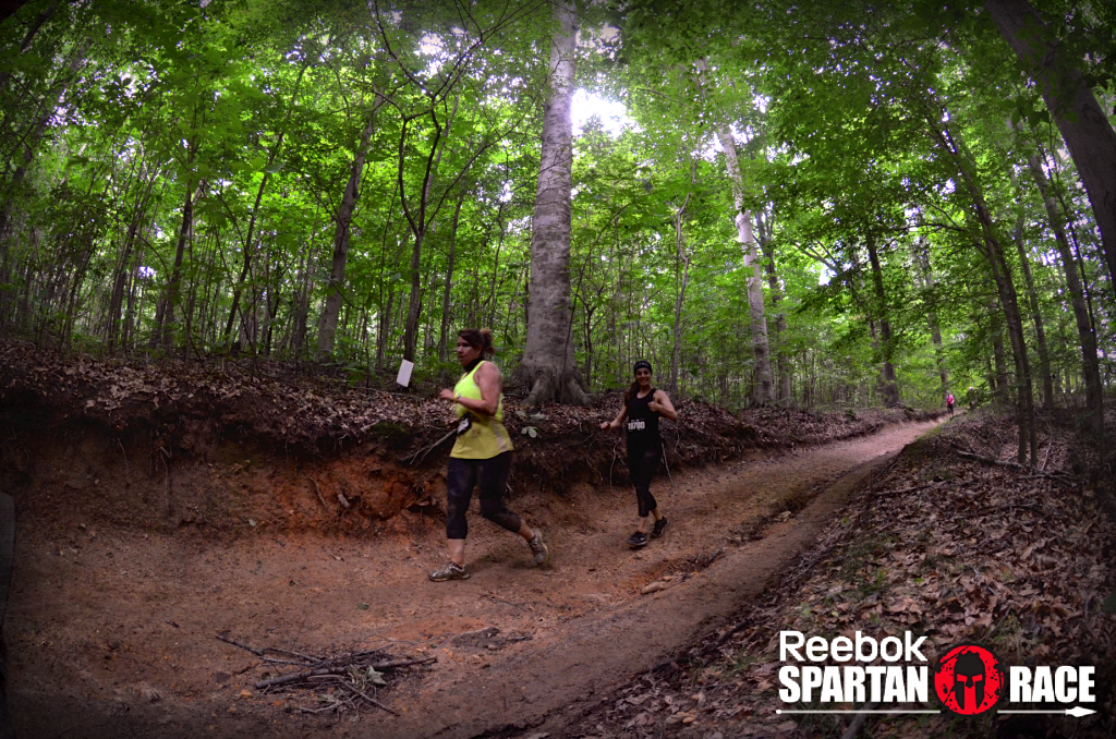 spartan race woods