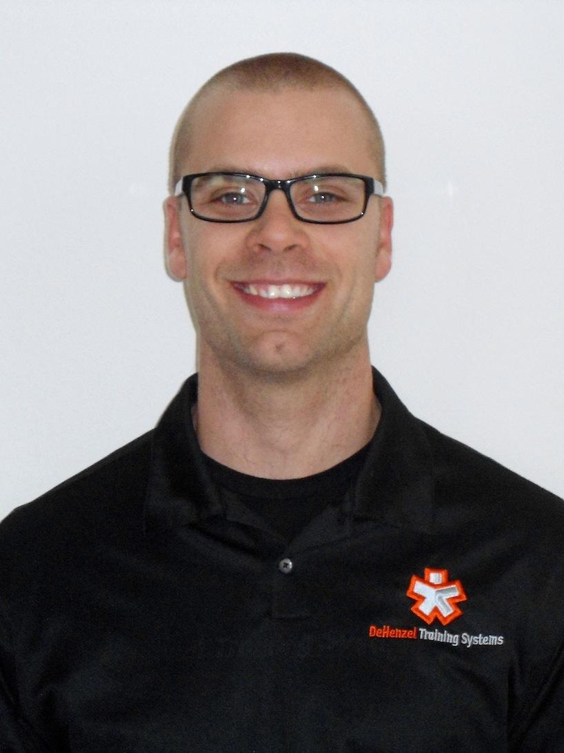 certified personal trainer Jason DeHenzel