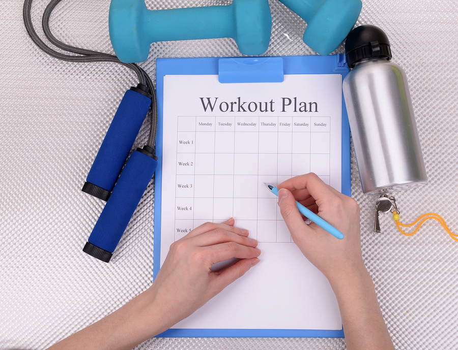 the importance of a written workout plan
