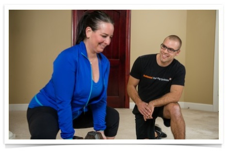 in home personal training for round hill va